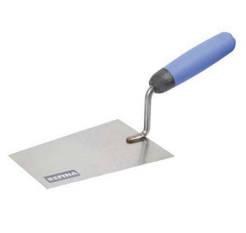 "Refina Stainless Steel Square End  Bucket Trowel  (Sizes 6"" and 10"")"