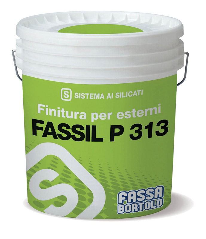 FASSIL P313 -Smooth silicate water-based paint for interiors and exteriors 14L (Available to be tinted in various colours, please call for more information.)