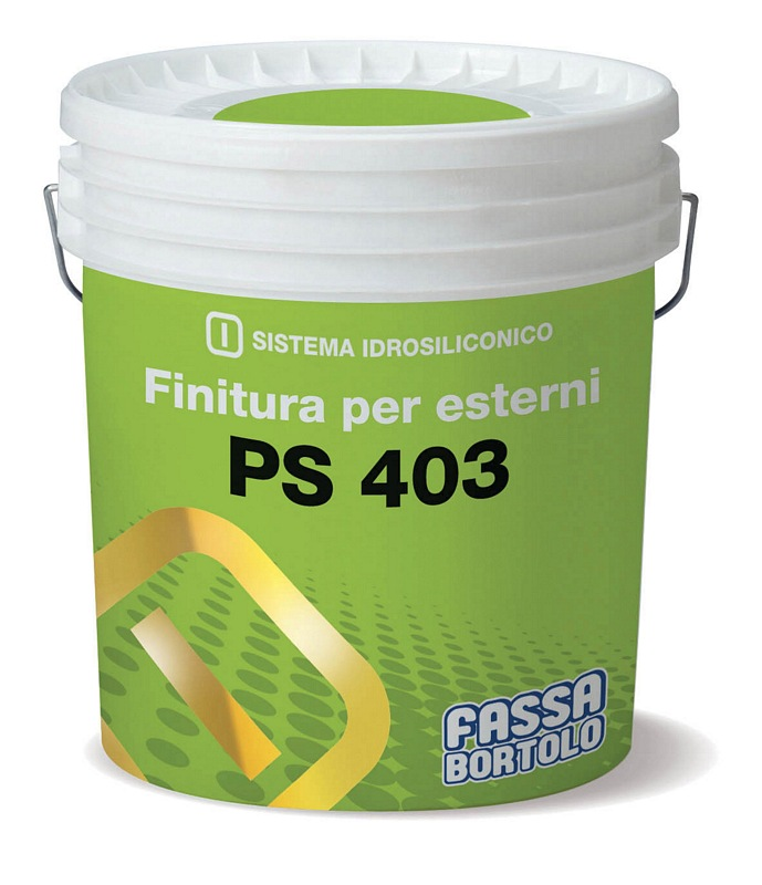 FASSA PS 403 Highly breathable siloxane finish for exteriors 14L (Available to be tinted in various colours, please call for more information.)