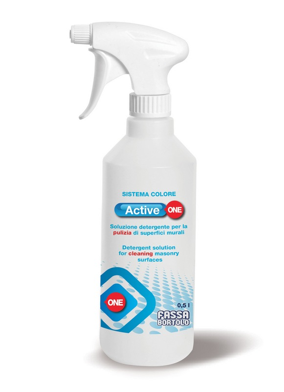Active One - Detergent solution for cleaning masonry surfaces 5l