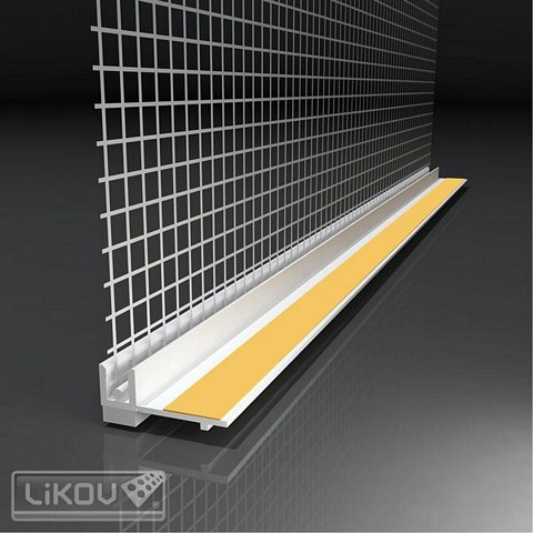 PVU 6mm Window Profile Beads APU with Mesh 2.4m