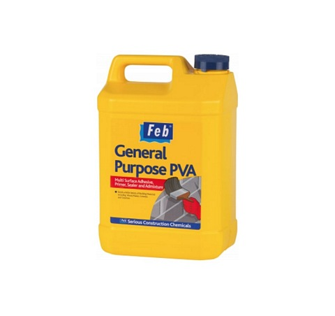 Feb General Purpose PVA 5ltr