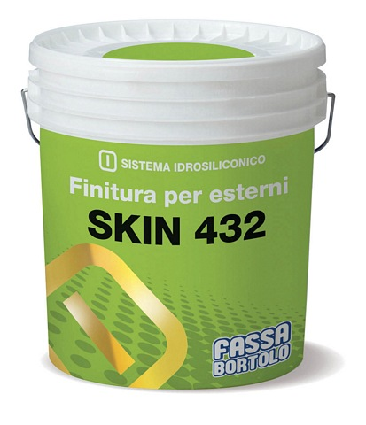 FASSA SKIN 432 Protective siloxane finish for exteriors 14L (Available to be tinted to a wide range of colours, please call for more information)