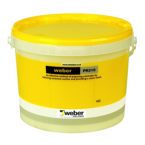 WEBER PR310 WINTER WHITE - 12.5kg General purpose liquid paint primer.  (Available to be tinted in various colours, please call for more information.)