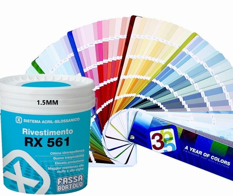 FASSA RX561 1.5MM PASTEL WHITE  (Available to be tinted in various colours, please call for more information.)